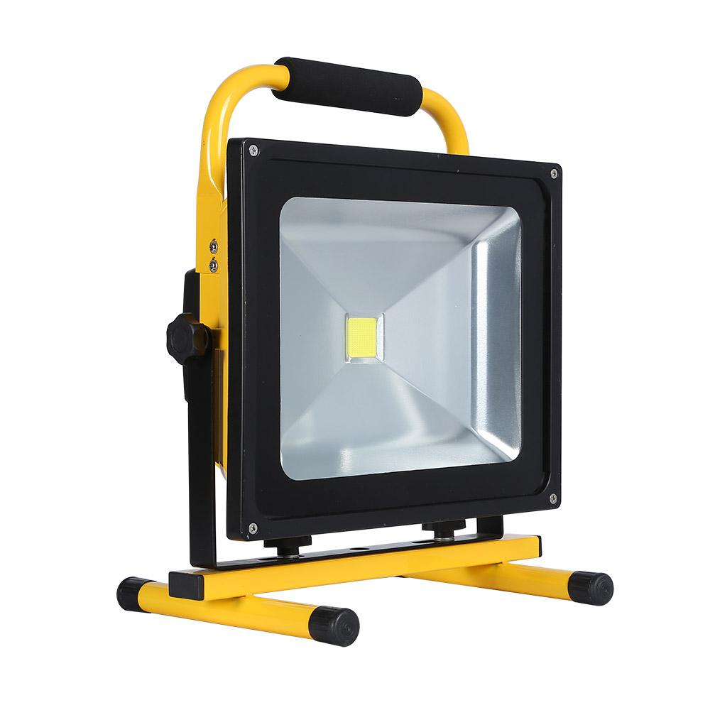 Proyector LED, 50W con batería recargable